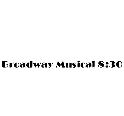 14pt. on 18pt. Broadway