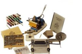 Model 45 Hand Operated Hot stamping Machine (RIBBON PACKAGE SYSTEM)
