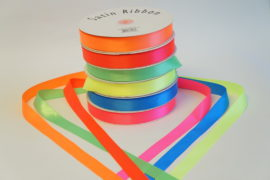 7/8 Plain Edge Satin Polyester Ribbon
