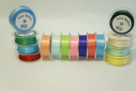 "1/16"" DOUBLE FACE PLAIN EDGE SATIN RIBBON"