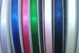 "Ribbon - 1/4"" Plain edge 100yds spool"
